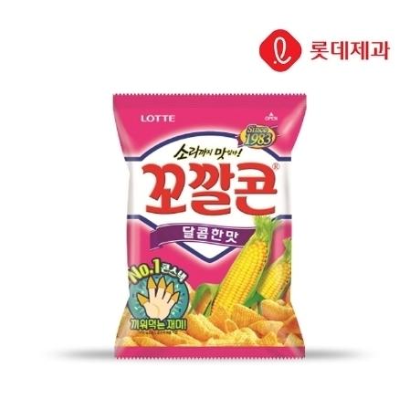 [롯데]꼬깔콘 달콤한맛 72g x70