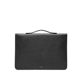 (현대백화점)질스튜어트 핸드백 [JUBA9E545BK][RINALDI] 블랙 슬림 지퍼 서류가방