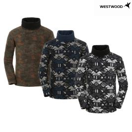 웨스트우드 남성 패턴 플리스 티셔츠_WI4MTTR427_