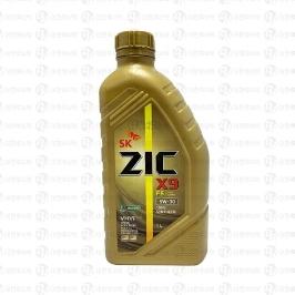 SK ZIC X9 FS 5W30 1리터 / 엔진오일 합성유 가솔린&디젤