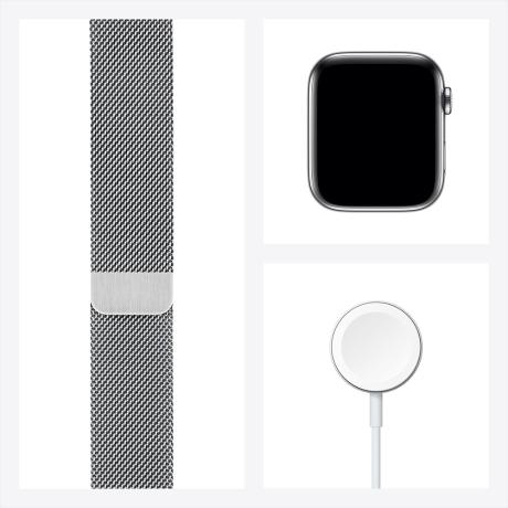 [공식인증점] Apple 애플워치 6 40mm GPS+셀룰러 스테인리스 케이스 + 밀레니즈 루프