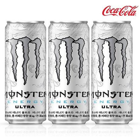 [코카콜라] 몬스터 에너지 울트라 355ml X24