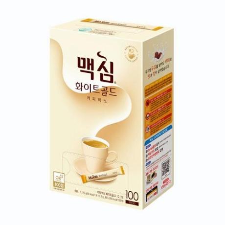 [맥심]화이트골드 커피믹스 11.7g x 100입