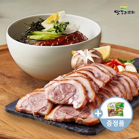 맛보고 족발다움 순살족발300g이상+비빔막국수+소스2종~!