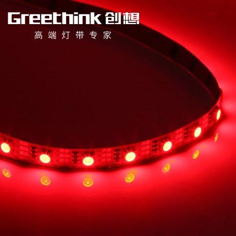 [해외] led바 LED5VRGB5050led컬러램프 60구슬 led연등 포함간이 휴대용 USB  T01C01