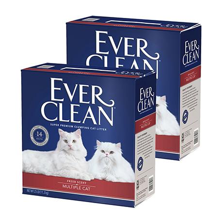 에버크린 MC 고양이모래 11.3kg X2개