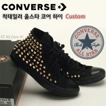 26020e173b9 [Converse] 정품 컨버스 올스타 척테일러 하이탑 커스텀 스터드 찡 컴뱃 신발(AB_G) 위메프 프라이스 119,000원 ...