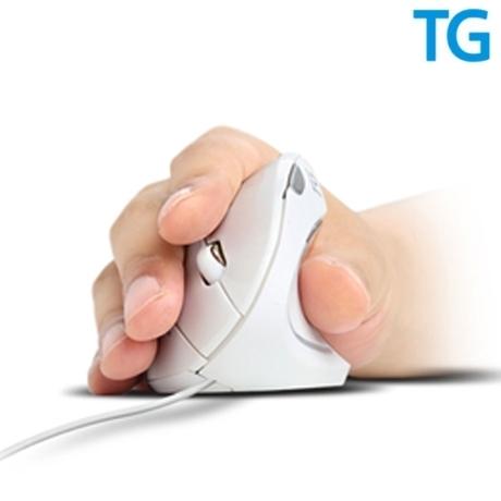 [TG삼보] TG TM137U HEALING 버티컬 인체공학 유선마우스