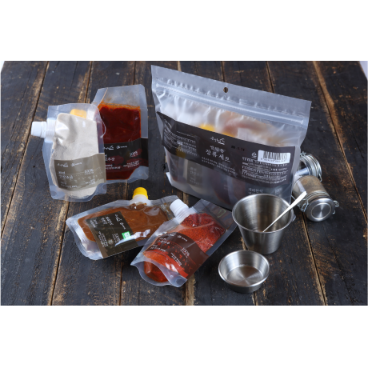 [시흥시장독대협동조합] 맛있는 캠핑용장류세트(고추장,된장,고춧가루,간장소금)