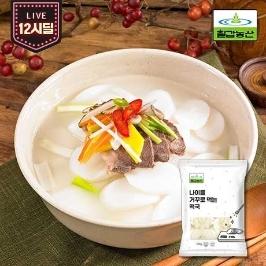 [12시딜] 국내산 쌀로만든 나이를거꾸로먹는떡국 500g*2봉 외 10종골라담기