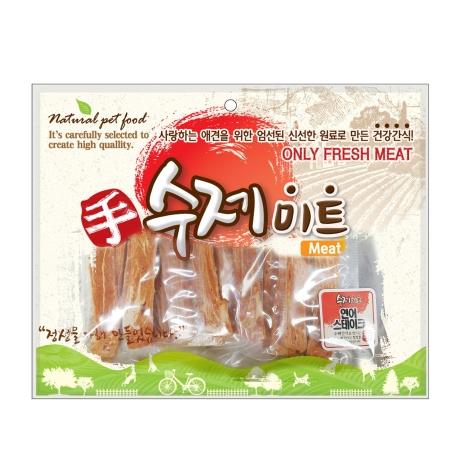 수제미트 대용량 강아지간식 연어스테이크 300g