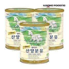 [원더배송]  일동후디스 산양분유 2단계 800g X 3