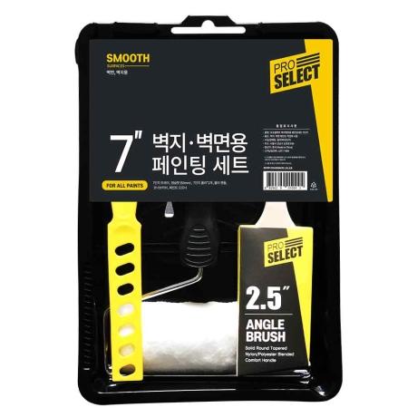 [페인트 도구] 프로셀렉트 7인치 도구 세트