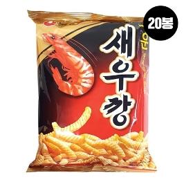 [원더배송] 농심 매운 새우깡 90g 20봉