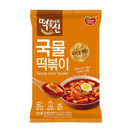 [동원]동원 떡볶이의신 국물떡볶이 422g