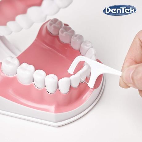 [본사직영] 덴텍 컴플리트클린 치실 75개입x2개 (150개)