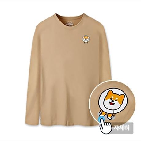 남녀공용 프린트 티셔츠 MBT-LRP1 (TUBE SHIBA)