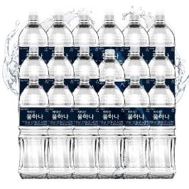 [무료배송] 지리산 생수 2L X 18