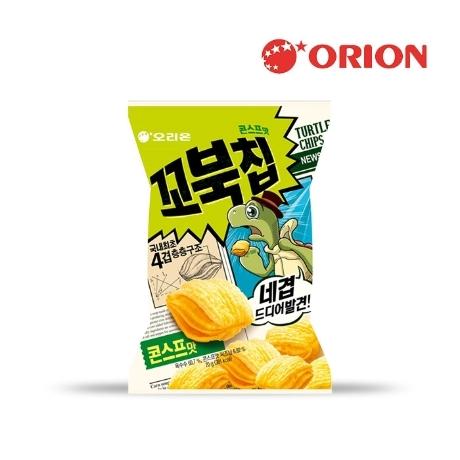 [오리온] 꼬북칩 콘스프맛 65g