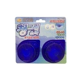 [싸고빠르다] 청그린스타(변기살균 세정제) 40g*2개입
