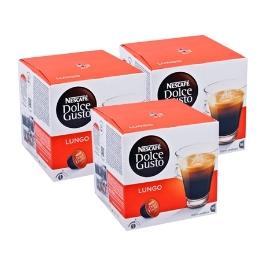 [원더배송] 네스카페 돌체구스토 (캡슐) 룽고 커피 16개입 x 3박스