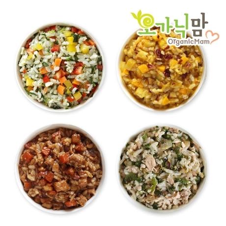 [오가닉맘이유식] 오가닉맘 이유식 4단계 된밥