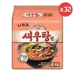 [원더배송] 농심 새우탕면 103g 32봉