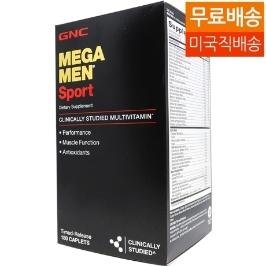 [해외배송] 무료배송 GNC 메가맨 스포츠 멀티비타민 180정