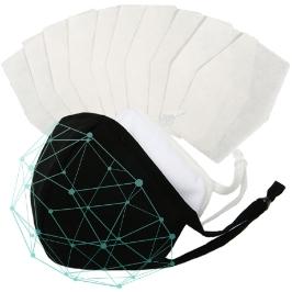 3D 필터교체형 마스크+교체용필터 10매/나노필터 필터교체형 당일발송