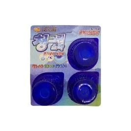 [싸고빠르다] 청그린스타(변기살균 세정제) 40g*3개입