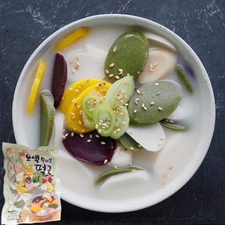 국산쌀 오색떡 떡국떡 1.2kg