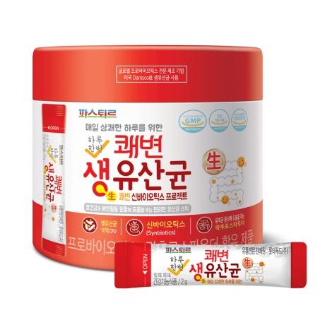 파스퇴르 쾌변 생유산균 180봉 (6개월분)