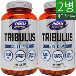 [해외배송] 2병/180정 나우푸드 스포츠 트리뷸러스 Tribulus 1000mg__