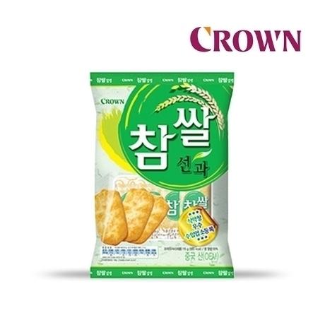 [크라운] 참쌀선과 253g (대용량)