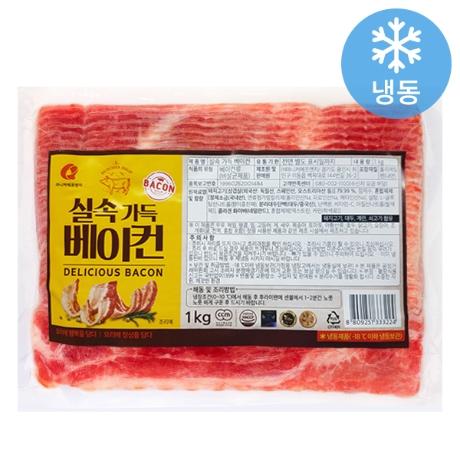 [마니커에프앤지] 마니커 실속 가득 베이컨 1kg
