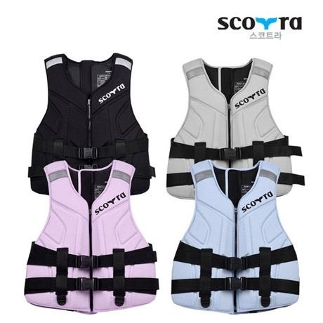 [스코트라] 당일출고 스코트라 고급성형 구명조끼 XL