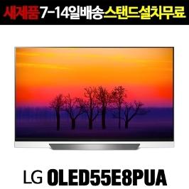 LG전자 OLED55E8P (OLED55E8PUA) 2018년 신상품 ThinQ AI TV / 55인치 티비 해외직구 (새상품