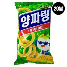 [슈퍼투데이특가] 농심 양파링 84g 20봉