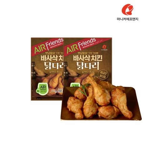 마니커에프앤지 바사삭닭다리 420g(2봉)