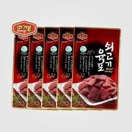 [더싸다특가] 머거본 쇠고기육포25gx4봉