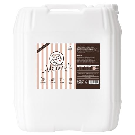 마미스 대용량 섬유유연제(베이비파우더향) 20L