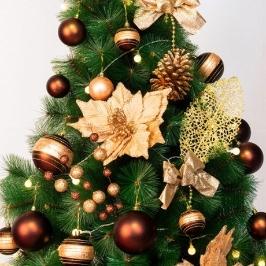 [텐바이텐] 크리스마스 트리장식 풀세트 37PCS [골드]_(11907067)