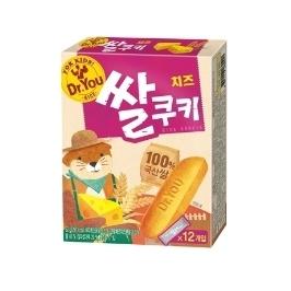 오리온 닥터유 치즈 쌀쿠키 62g 12개