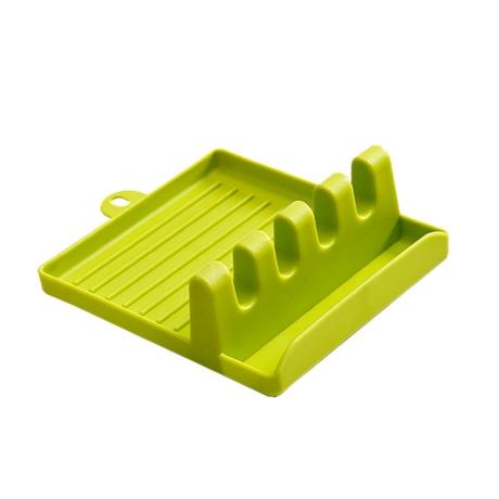 [놀자리빙]조리도구 냄비뚜껑 받침 거치대 멀티 조리기구정리 국자받침대