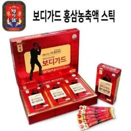 명기삼 보디가드 홍삼 스틱 10g x 30포 쇼핑백 포함