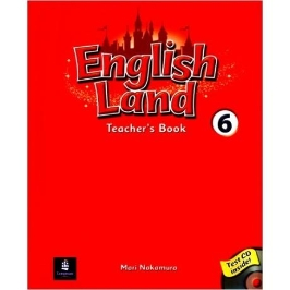 (중고) English Land 6 (Teachers Book + CD 1장) - Longman 편집부