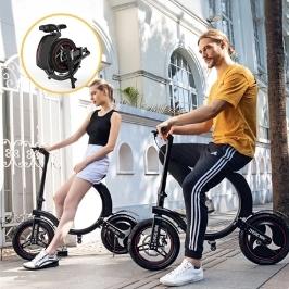 라짱  - 옵션2-450W 36V 7.2AH 접이식 방수 전동 스쿠터 전동 스쿠터 전기스쿠터 킥보드 전기 자전거 전기킥보드