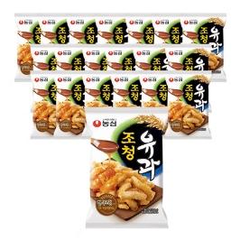 [원더배송] 농심 조청유과 96g 20봉