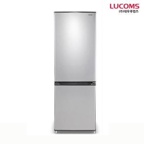 [대우루컴즈]대우루컴즈 슬림냉장고 161L 콤비냉장고 소형냉장고 미니냉장고 상냉장 하냉동 R161M1-G