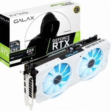 갤럭시 GALAX 지포스 RTX 2060 SUPER EX WHITE OC D6 8GB 그래픽카드